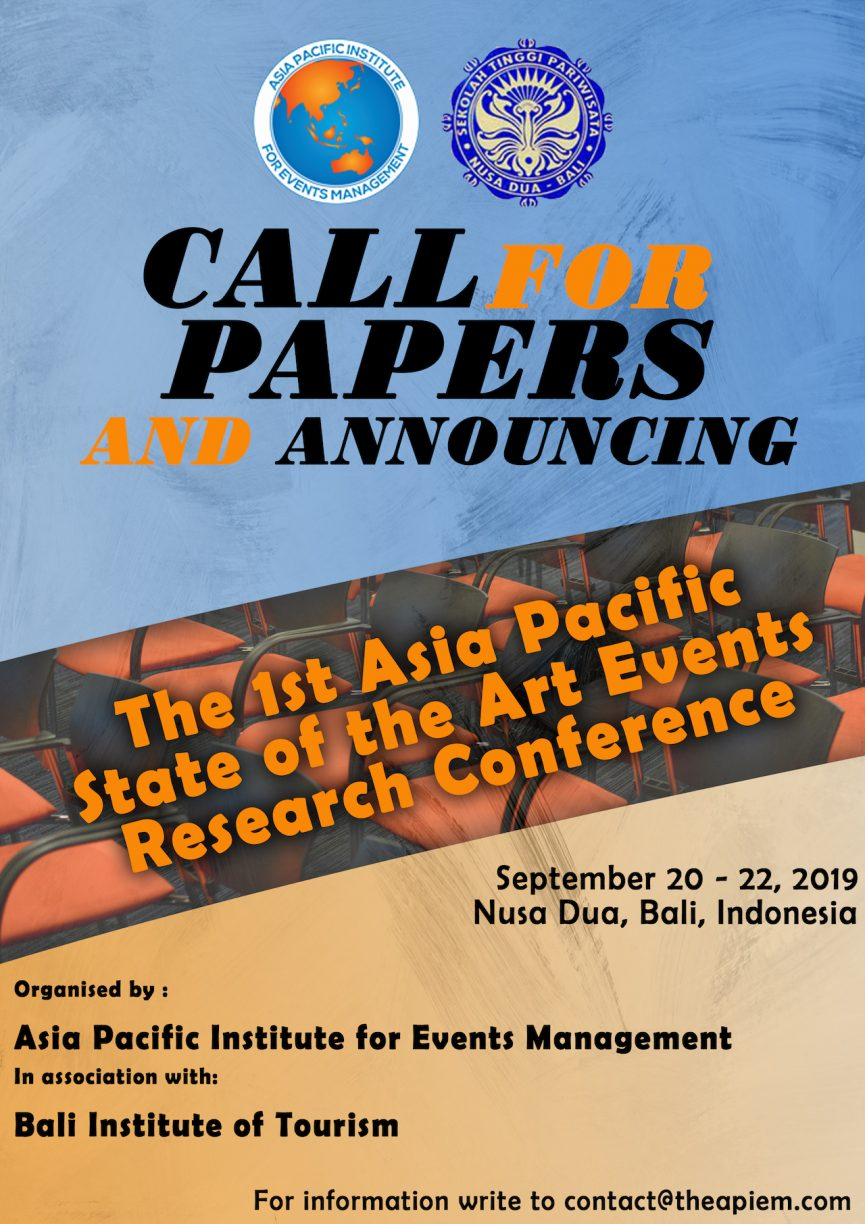art event research conference indonesia