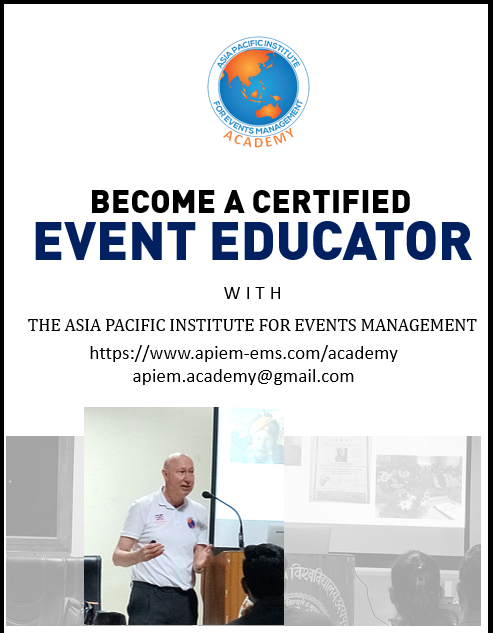 The 1st Cohort of APIEM Certified Event Educators Start Their Studies on 3 August 2020