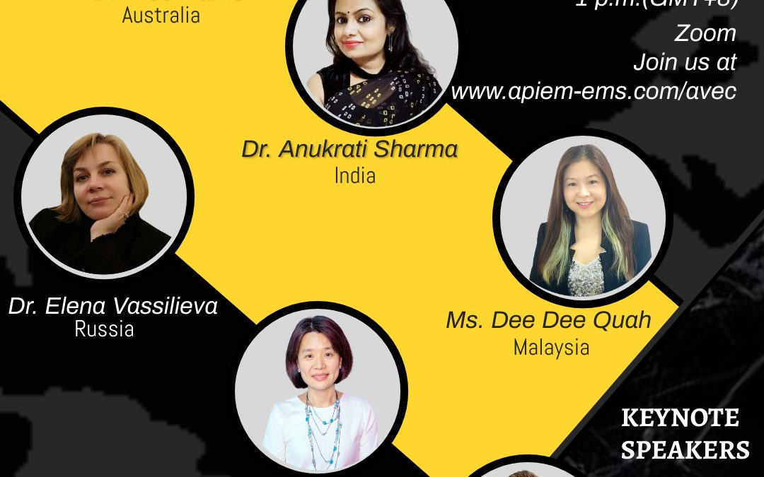 The 1st Asia Pacific Virtual Events Conference